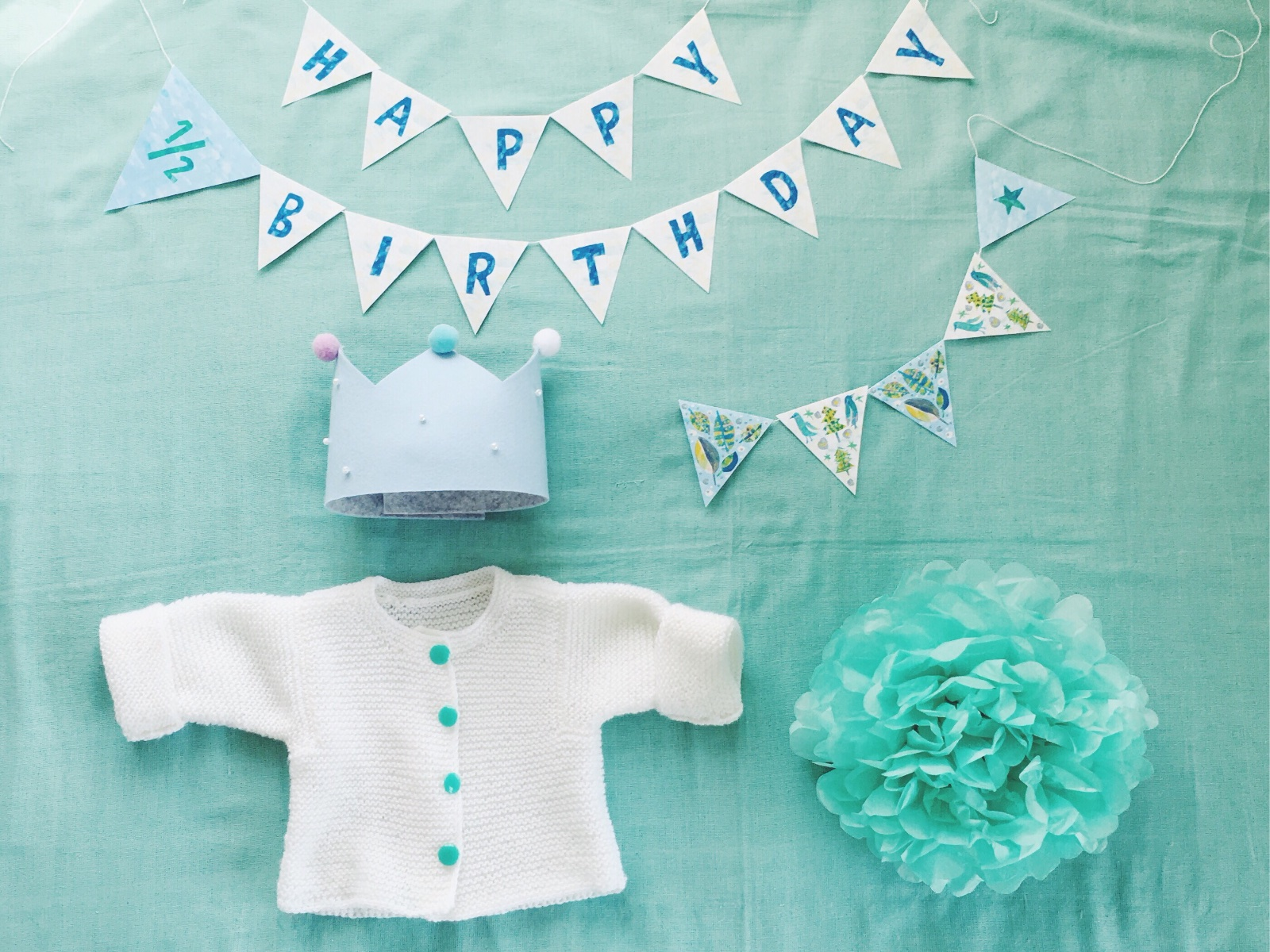 Coordinate with cute mint colors