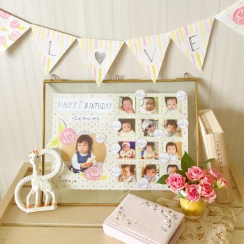 Shabby Flowers / Birthday