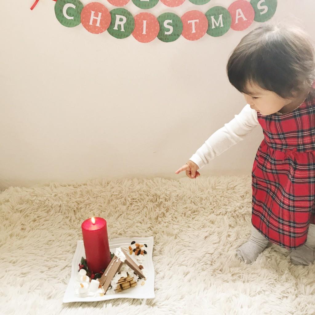 お菓子の家と子供