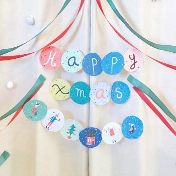 Happy Xmas / Garland