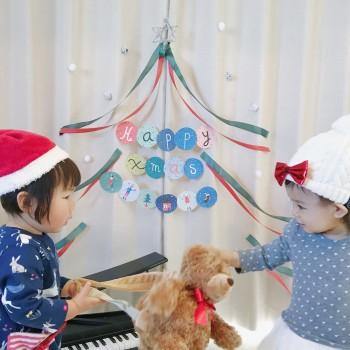 即席ツリーで<br/>仲良しクリスマス会