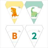 やんちゃガーランド恐竜クラフト